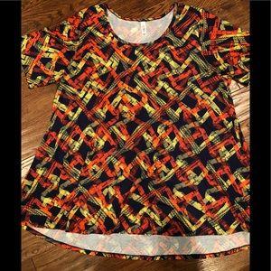 Lularoe Perfect T shirt size 3X